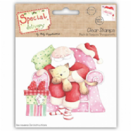 Sleeping Santa Clear Stamp From Special Delivery